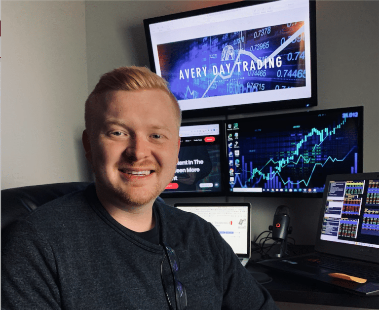 Kevin Avery at the Day Trader Chatroom